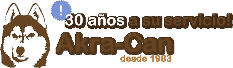 logotipo akra can